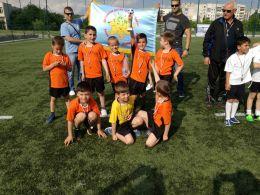 """Трето място в града  за малките футболисти от ДГ """" Бреза""""  1"""